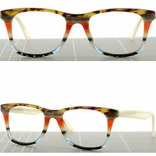Large Square Mens Womens Plastic Frames Light Prescription Glasses RX Sunglasses