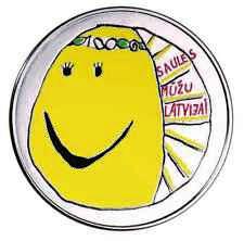 "Latvia (Lettland)  5 EURO Silver Coin PP 2018 "" My Latvia"""