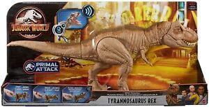Jurassic World Epic Roarin T-Rex Action Figure 54cm Dinosaur Chomp Tyrannosaurus