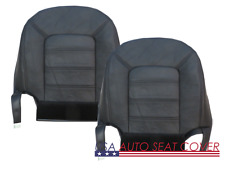03-07 Ford Explorer Eddie Bauer XLT Sport Dr. Pa.Bottom Leather Seat cover Black