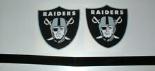 OAKLAND RAIDERS FULL SIZE FOOTBALL DECALS