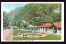 Entrance Park Indian Trail WATKINS GLEN NY Postcard