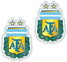 2x ARGENTINE FOOTBALL ASSOCIATION AFA la Coupe de l'Argentine Team Sticker