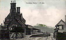 Cheddleton Railway Station near Leek