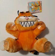 Garfield Plush With Suction Cups Make My Day Dankin 1981 car window