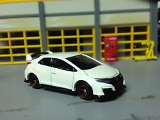 1/64 TOMICA 2016 Honda Civic Type R 4 Dr. with Wing and Ground Effects