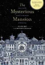 The Mysterious Mansion Brain Games Coloring Book Art Colouring Book 108 Pages