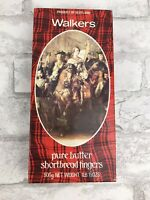 Vintage Walkers Pure Butter Shortbread Advert. Prince Charles Empty Metal Tin