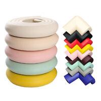 4M+8pcs Baby Safety Rubber Foam Bumper Strip Desk Table Edge Corner Protector