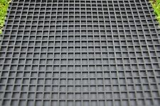 Industrial sluice rubber mat