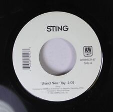 Rock 45 Sting - Brand New Day / I'M So Happy I Can'T Stop Crying On Am Records