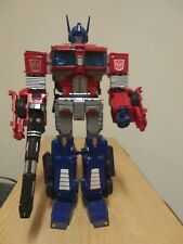 Transformers voyager Combiner Wars Optimus Prime with Primo Vitalis SND kit IDW.
