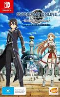 Sword Art Online Hollow Realization Deluxe Edition Nintendo Switch MMORPG Game