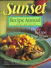Recipe Annual, 1989 by Sunset Publishing Staff (1989, Hardcover)