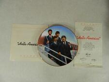 The Beatles Hello America Bradford Exchange DELPHI Plate