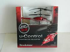 Brookstone u Control Phantom II RC Remote Control Helicopter Easy to Fly ~C