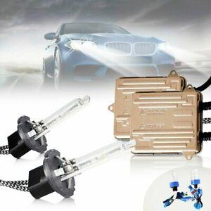 VLAND 2* D2H HID Headlight Bulbs + 2* Ballast  High/Low Beam Lamp 55W 6000K