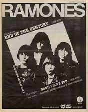 Ramones LP advert 1980