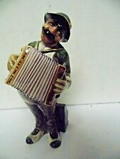 1950s Gort Bone China Figurine TonyAccordion Player Figure