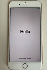 Unlocked- Gold iPhone 8 Plus 64Gb in Box *Cracked Back/Camera Not Working*