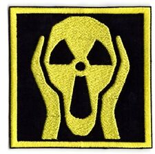 Nuclear bomb radiation scream nuke  Iron on Patch FREE NORTH AMERICA shipping