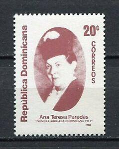27959) Dominikanische Rep.1988 MNH Neu 1st Female Lawyer