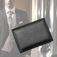 Men's Wallet Bifold ID Credit Card Holder Mini Vintage Purse Money Clip Black MT