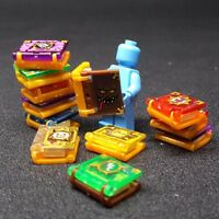 12pcs Pack of Magical Book Sorcery Scriptures For Lego Minifigure