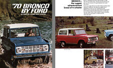 Ford 1970 - '70 Bronco by Ford  All-Purpose 4-Wheel-Drive Vehicles