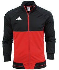 Adidas Tiro 17 hombre puente Gimnasio Fútbol Training Top Chaqueta Con Bolsillos