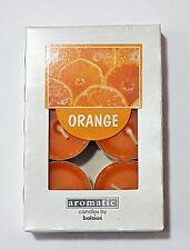 Duftteelicht / Teelichter Orange 6 er Packung Kerze von Bolsius
