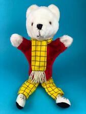 Vintage Rupert The Bear Glove Hand Puppet Plush Soft Toy Doll 1970s 1974