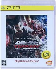 Used Sony PS3 Japan Tekken Tag Tournament 2 PlayStation 3 the Best PlayStation 3