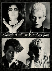 SIOUXSIE AND THE BANSHEES. Repro mini poster. Punk.