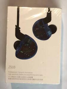 Earbuds KZ ZS10 HiFi In-Ear Headphones In Ear Monitors Earphones Professional