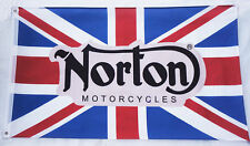 New Flag Racing car banner flags 3X5 Ft for Norton Motorcycles Flag