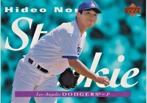 "1995 UPPER DECK UD HIDEO NOMO ""STAR ROOKIE"" DODGERS RC #141"