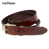 "Tourbon Leather Buckle Belt Waistband Waist Strap Hunting Shooting Man 39""-43"""