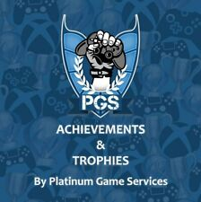 PlayStation Trophies Platinum Trophy Service PS4 Games Collection Legitimate