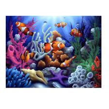 Underwater World 5D Diamond DIY Painting  Kit Home Decor Craft E0Xc