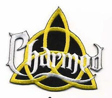 Charmed TV Show Power of Three Name Logo 3 1/2″ IRON-ON PREMIUM PATCH