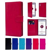 PU Leather Book Case Cover for Sony Xperia XZ/XZ Premium/ XZ1/XZ1 compact/XZ2