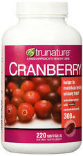 Treehousecollections: Trunature Cranberry Health Supplement 30mg 220 Softgels