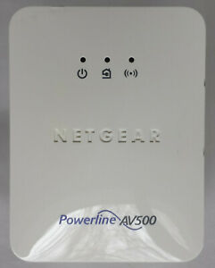 Netgear XWN5001 AV500 Mbps Powerline Add-on adapter with built in Wireless WiFi