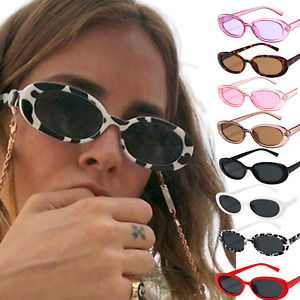 Oval Frame Sunglasses Women Ladies Fashion Retro Gift Shades Sun Glasses Fashion