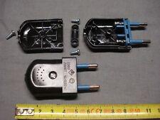 1 fiche mâle noire démontable lampe de chevet (réf FN) 2,5 A ou 500 W