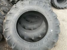 (2-TIRES) 13.6x28,13.6-28 12 PLY Tractor Tires W/TUBES Made in India