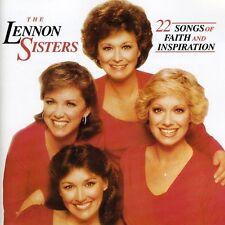 The Lennon Sisters - 22 Songs of Faith & Inspiration [New CD]