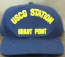 New Uscg Us Coast Guard Hat Cap Uscg Station Brant Point Massachusetts