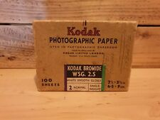 1935 Kodak photographic paper box